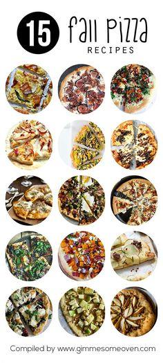 15 Fall Pizza Recipes (via Bloglovin.com )
