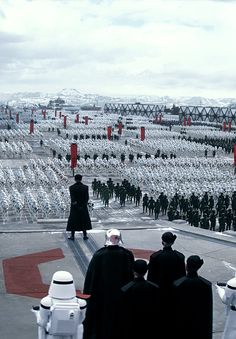 Why does this remind me of Hitler and his Nazi army?...