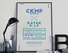 "Check out new work on my @Behance portfolio: ""Kayak Polo - CKMP"" http://on.be.net/1J3SdIV"