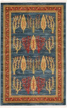 Nomad Blue Area Rug