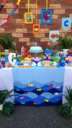 Festa do fundo do mar