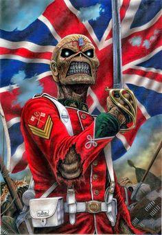 ' Mãe Russia Dança dos czares Levantem suas cabeças Tenham orgulho do que são Agora chegou ao menos a liberdade ' ___Mother Russia, Iron Maiden__
