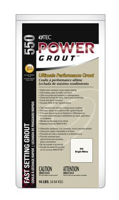 FUN FACT: Most tile DIY projects are finished in 24 hours! TEC Power Grout lets you walk on floor only 4 hours after installation. Available at select @lowes
