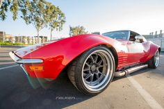 Need some muscle to power through the rest of this Monday? Cris G's JCG Restoration & Customs '70 Corvette Stingray LT-1 is powered by a Mullenix Racing Engine LS6 and rides on Van Steel/RAFT front & rear suspension, JRi double adjustable shocks, Eibach springs, Wilwood disc brakes, and 18x11.5 Forgeline GA3R wheels finished with Transparent Smoke centers, Polished outers, & bolt-on Competition center cap! See more at: http://www.forgeline.com/customer_gallery_view.php?cvk=1468 #Corvette
