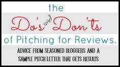 Pitching Help for Bloggers: Ideas to Keep You From Landing in the Trash {+ a Sample Pitch Letter} - Blogging Mamas