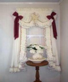 Ruffled Curtains At Deloresu0027 Ruffles