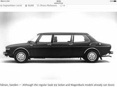 Saab 99 limousine