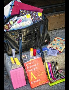 What's in my school bag? by ♥GreenTea♥, via Flickr