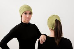 Pistachio Ponytail Hat - Order today by visiting: http://www.doohat.com