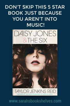 Daisy Jones & the Six is a unputdownable book! And, it's even appealing to people that aren't into music. Add this new release to your reading list right now. Literary Fiction, Historical Fiction, Fiction Books, Book Club Books, Book Nerd, Best Books To Read, Good Books, Reading Lists, Book Lists