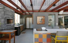 Cobertura Pinheiros / Mandril Arquitetura #gourmet #churrasqueira #lazer #kitchen