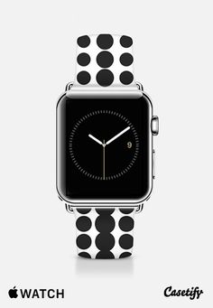 Black Dots Apple Watch Band (42mm) by Metron | Casetify