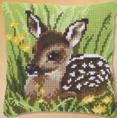 Deer cross stitch.