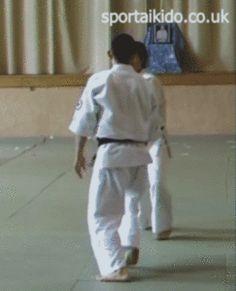 Central London Shodokan Aikido - Google+ - Sakai Sensei is an awesome uke, #gif from Masa Abe's 4th…