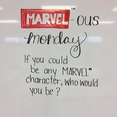 """81 Likes, 4 Comments - Janna (@lovin7th) on Instagram: """"Here we go... my spidey-sense tells me that this is going to be a good week in whiteboard land!…"""""""