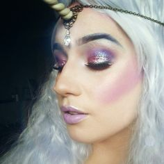 Best representation descriptions: DIY Unicorn Halloween Costume Makeup Related searches: DIY Easy Little Girl Unicorn Makeup,Really Easy Un. Unicorn Eyeshadow, Unicorn Makeup, Mermaid Makeup, Tiger Makeup, Unicorn Outfit, Eye Makeup, Unicorn Halloween Costume, Halloween Make Up, Halloween Face Makeup