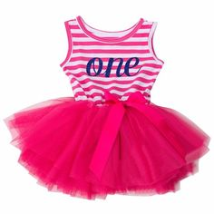 Boutique First Birthday Hot Pink Tutu Size Size 12 month