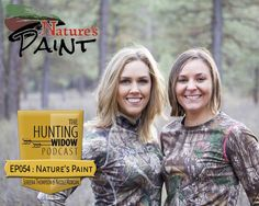 EP054: Nature's Paint with Sereena Thompson and Nicole Morgan  I had the opportunity to meet up with Sereena and Nicole at Shot Show 2017 and get to know them better.  @sereenathompson started hunting at a young age and grabbed onto archery.  @nicole_morgan33 just started hunting over the last 2 years and has gotten the bug!  These women came together about 2 years ago and came up with @naturespaint . A natural face paint meant to go on smooth and come off easy. Made with shea butter this…