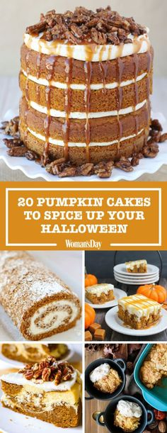 30+ Pumpkin Cake Recipes That'll Spice Up Your Fall