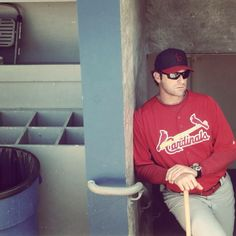 Mike Matheny - Our manager is hotter than your manager ;) #cardinalnation