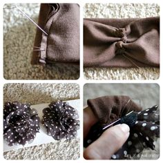 DIY Baby Flower Headband: A Tutorial - #art, #diy, craft