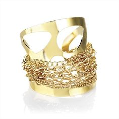 Minerva Collection Chain Detail Fashion Cuff Bangle Gold by Minerva Collection, http://www.amazon.co.uk/dp/B00AEAS1KM/ref=cm_sw_r_pi_dp_q19Tqb1WNX8QQ