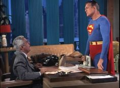 """And when Perry tosses out a """"Who do you think you are, Superman?"""" it's played for laughs and almost works as a necessary reminder that this show is called ..."""