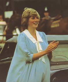 Diana at polo in 1982
