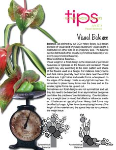 A good designer has mastered this. Ikebana Flower Arrangement, Floral Arrangements, Floral Design Classes, Floral Designs, Design Theory, Mechanical Design, Garden Club, Flower Show, Art Tips