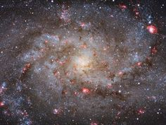 """""""M33 Core"""" Lying approximately 3 million light years away, M33 is the third largest member of the Local Group of galaxies behind the Andromeda Galaxy and our very own galaxy, the Milky Way"""