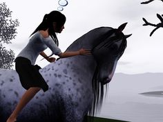 Sims 3 horse I love that horse