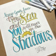 Starting the day early with a bit of lettering and coloring using the 4/15…