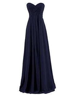 Dresstells Sweetheart Bridesmaid Chiffon Prom Dresses Long Evening Gowns Navy Size 6 Dresstells http://smile.amazon.com/dp/B00QM12KGI/ref=cm_sw_r_pi_dp_lNdRub1M76ZHN