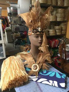 hulamelani.etsy.com Tane Tahitian headpiece, neckpiece and legpieces for Ori Tahiti solo in Merced, CA.