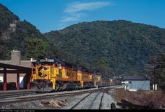 RailPictures.Net Photo: B&O 8590 Baltimore & Ohio (B&O) EMD SD50 at Prince, West Virginia by Doug Lilly