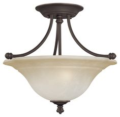 Harmony 2 Light Semi Flush Mount