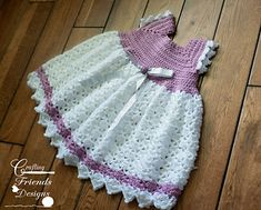 Snap Dragon Toddler Dress #crochet #pattern by Crafting Friends Designs