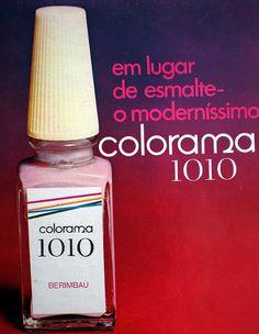 É da sua época?: [1990] Esmalte Colorama 1010