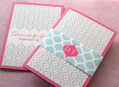 Indian Floral Booklet Invitation