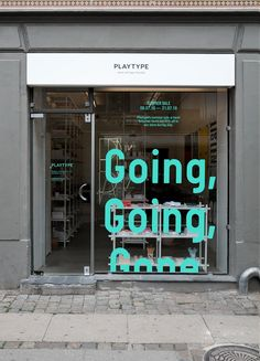 Playtype storefront