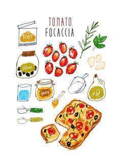 現在流行以繽紛可愛的插畫記錄我們的日常,從生活旅遊現在更著墨到了美食之上,而這個韓國插畫藝術家 Gim Hye Bin筆下的每一道食物,無論是精緻的冰品甜點或是平常的小吃,看起來都特別美味,好像是從天堂來的一樣!