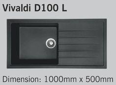 Carysil Vivaldi D100 L SBSD - Snova