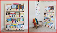 Tidy Books Kids Bookcase Review & #Giveaway! via @vivaveltoro ENDS 11/21. US Only. Giveaway Tools. #InCahoots