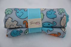 Waterproof Baby Changing Pad  Elephants w/ by GracefulGifts126, $18.00