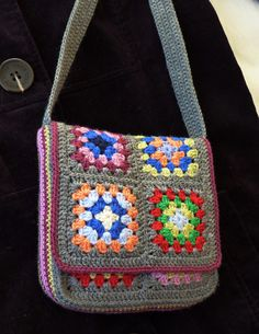 Messenger Bag By Judith L. Swartz - Free Crochet Pattern - (ravelry) …