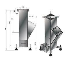 Resultado de imagen para cocina rocket planos
