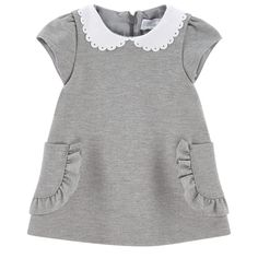 Tartine et Chocolat – Milano jersey dress – 237084 Tartine and Chocolate – Milano Jersey Kleid – 237084 This. Toddler Girl Style, Toddler Dress, Toddler Fashion, Toddler Outfits, Kids Fashion, Girl Outfits, Sewing Kids Clothes, Cute Baby Clothes, Baby Dress Design