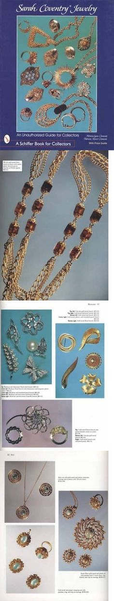 Price Guides and Publications 171122: Vintage Sarah Coventry Jewelry Collector Id Guide Rhinestone Costume -> BUY IT NOW ONLY: $29.95 on eBay!