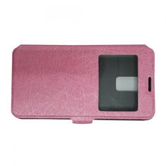 Rose lederen portemonnee bookcase Samsung Galaxy S5