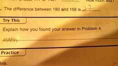 Common Core Math:  This literal-minded kid who reminds you not to ask stupid questions.